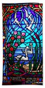 Stained Glass Beauty #20 Beach Towel