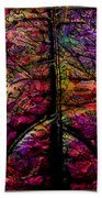 Stained Glass Not Beach Towel