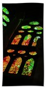Stained Glass Windows -  Beach Towel