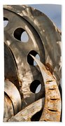 Stainless Abstract II Beach Towel