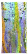 Stains Of Paint Beach Towel by Carlos Caetano