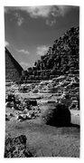 Stair Stepped Pyramids Beach Sheet