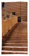 Staircase At Scala Della Ragione - Verona Italy Beach Towel