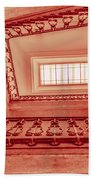 Staircase In Red Beach Towel