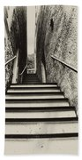 Stairs At Harpers Ferry Beach Towel