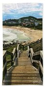 Stairway To Beach Beach Towel