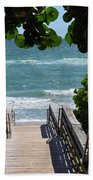 Stairway To Haven Beach Towel