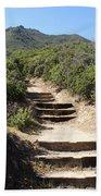 Stairway To Heaven On Mt Tamalpais Beach Towel