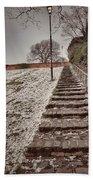 Stairway To Spring Beach Towel