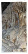 Stalactite Formations Beach Towel
