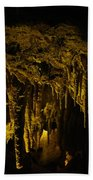 Stalactites Beach Towel
