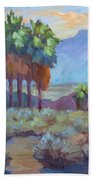 Standing Tall At Thousand Palms Beach Towel