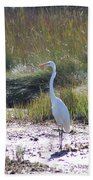 Standing There Beach Towel