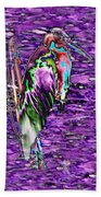 Standing Watch Beach Towel