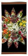 Star Flower Bouquet Creation By Navinjoshi At Fineartamerica.om Graphics Art   Elegant Interior Deco Beach Towel