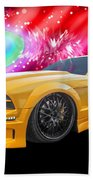 Star Of The Show - Mustang Gtr Beach Towel