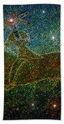 Star Rider Beach Towel by David Lee Thompson