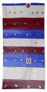 Star Spangled Banner Beach Towel