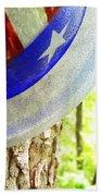Star Spangled Hat Beach Towel