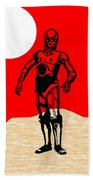 Star Wars C-3po Collection Beach Towel