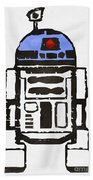 Star Wars R2d2 Droid Robot Beach Towel
