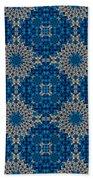 Stardrop Diamond Blue Beach Towel