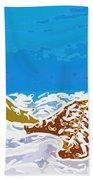 Starfish 1 Beach Towel by Lanjee Chee