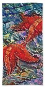 Starfish 2 Beach Towel