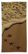 Starfish Constellation Beach Towel