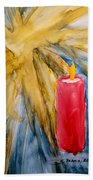 Starlight And Candlelight Beach Towel