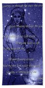 Starlight Of Space And Time 3 Beach Towel