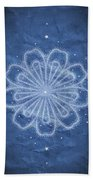 Starry Kaleidoscope Beach Towel