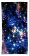 Starry Night Beach Towel