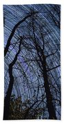 Stars And Silhouettes Beach Towel