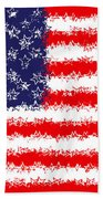Stars And Stars And Stripes Beach Sheet