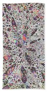 Stars Give Birth To Color Beach Towel