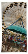 State Fair Of Oklahoma II Beach Towel