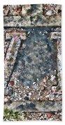 Station 6 Faded - San Juan Capistrano Beach Towel