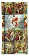 Stations Of The Cross Beach Towel