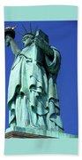 Statue Of Liberty 10 Beach Towel