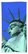 Statue Of Liberty 11 Beach Towel
