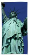 Statue Of Liberty 13 Beach Towel
