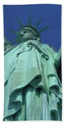 Statue Of Liberty 16 Beach Towel