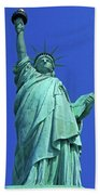 Statue Of Liberty 17 Beach Towel