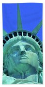 Statue Of Liberty 19 Beach Towel
