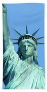 Statue Of Liberty 5 Beach Towel