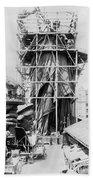 Statue Of Liberty, C1883 Beach Towel