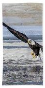 Steady Approach Beach Towel