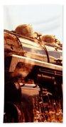 Steam Engine 3716 Beach Towel