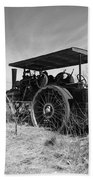 Steam Tractor Beach Sheet